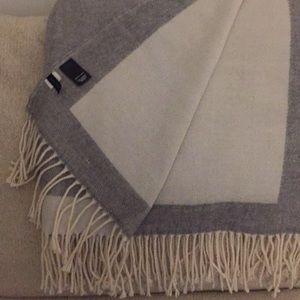 Ann Taylor Fringe Blanket Scarf